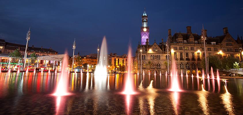 City Park at Night