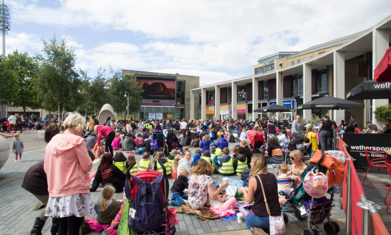 MAY THE FORCE BE WITH YOU…..BRADFORD FAMILY FILM FESTIVAL LAUNCHES TODAY WITH CITY PARK SCREENING AND JEDI FITNESS FUN