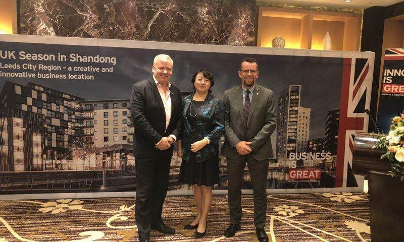 Bradford team in China to boost relations with world's second largest economy