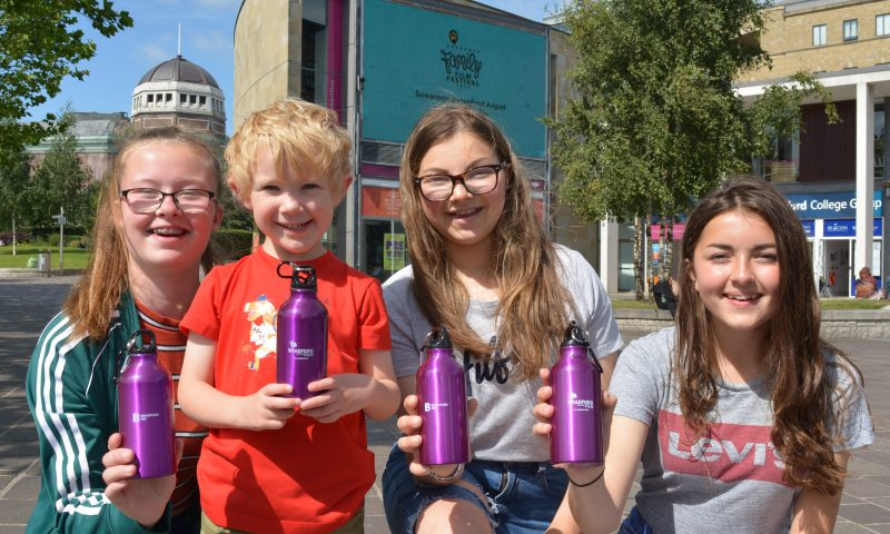 BRADFORD FAMILY FILM FESTIVAL-GOERS AND CITY BUSINESSES URGED TO SUPPORT NEW DRIVE TO REDUCE  PLASTIC WASTE